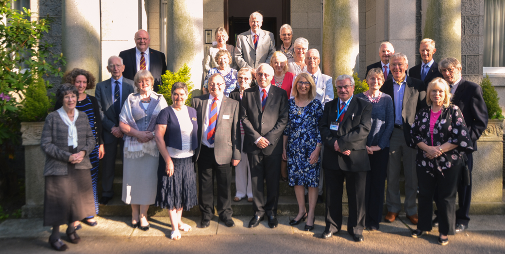 Members of the Dundee and Perth Circle attending a meeting with Aberdeen Circle and the Grand President