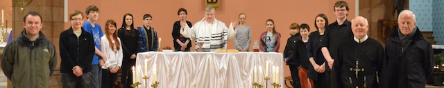 The Last Supper - a re-enactment by members of the Perth Catholic Youth Group