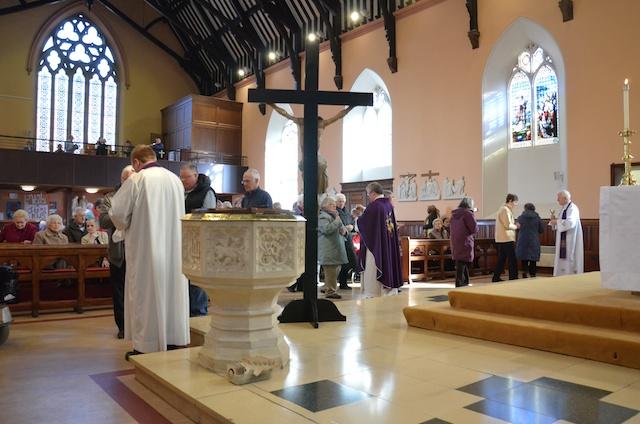 A Healing Service in St John's